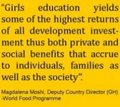The Truth About Girls Education -Quote
